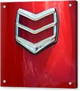 40 Ford Coupe Tail Light Acrylic Print