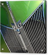 40 Ford - Grill Detail-8633 Acrylic Print