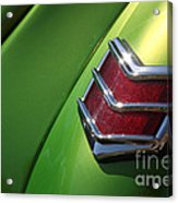 40 Ford - Tail Light-8531 Acrylic Print