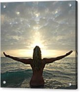 4008 Birth Of A New Day  Acrylic Print