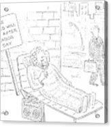 New Yorker September 4th, 2006 Acrylic Print