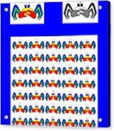 42 Crab Mac Claws Acrylic Print