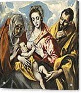 Greco, Dom�nikos Theotok�poulos, Called Acrylic Print