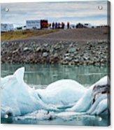 Iceland, Ice & Fire Acrylic Print