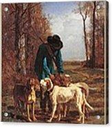 France, Ile De France, Paris, Muse Acrylic Print