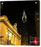 42nd Street Night Acrylic Print