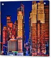 42nd Street Acrylic Print