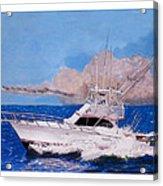 Storm Chasing On The High Seas Acrylic Print