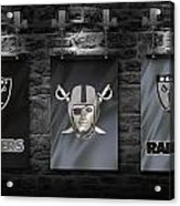Oakland Raiders Acrylic Print