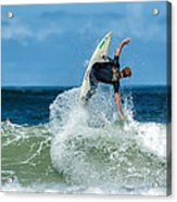 Surfing Fun Acrylic Print