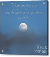 43- Thich Nhat Hanh Acrylic Print
