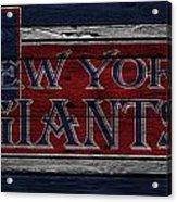 New York Giants Acrylic Print