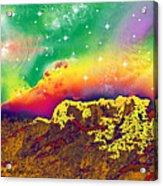 Space Landscape Acrylic Print