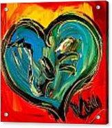 Heart Acrylic Print