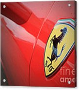 458 Red Acrylic Print