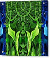 479 - Secret Dwellers In The Woods Acrylic Print