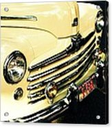'48 Ford Acrylic Print by Cathie Tyler