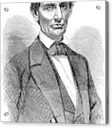 Abraham Lincoln (1809-1865) Acrylic Print