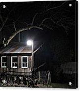 49er Ranch Stock Barn Acrylic Print