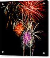 4th Of July 2012 Acrylic Print by Saija  Lehtonen