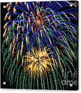 4th Of July 2014 Fireworks Mannington Wv 1 Acrylic Print