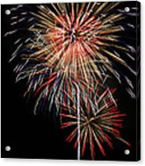 4th Of July 3 Acrylic Print by Marilyn Hunt
