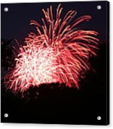 4th Of July Fireworks - 011311 Acrylic Print