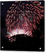 4th Of July Fireworks - 011313 Acrylic Print