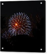 4th Of July Fireworks - 011314 Acrylic Print by DC Photographer