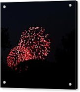 4th Of July Fireworks - 011317 Acrylic Print by DC Photographer