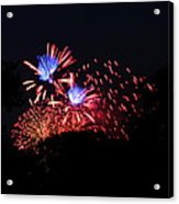 4th Of July Fireworks - 011319 Acrylic Print