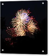 4th Of July Fireworks - 011320 Acrylic Print by DC Photographer