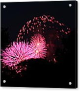 4th Of July Fireworks - 011325 Acrylic Print