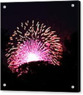4th Of July Fireworks - 011327 Acrylic Print by DC Photographer