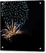 4th Of July Fireworks - 011330 Acrylic Print by DC Photographer