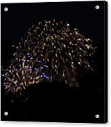4th Of July Fireworks - 011332 Acrylic Print by DC Photographer