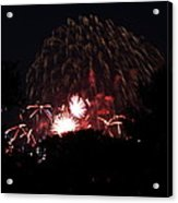 4th Of July Fireworks - 011333 Acrylic Print