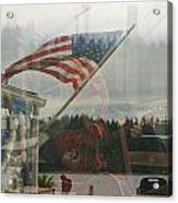 4th Of July In Seabeck Acrylic Print