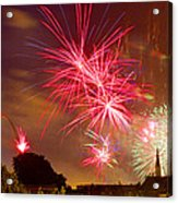 4th Of July In St Louis Acrylic Print