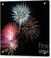 4th Of July Acrylic Print by Renee Chandler