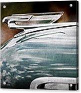 1940 Chevrolet Hood Ornament Acrylic Print