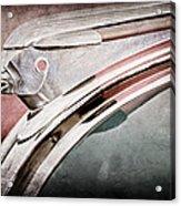 1948 Pontiac Chief Hood Ornament Acrylic Print