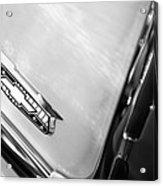 1955 Chevrolet Belair Emblem Acrylic Print
