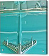 1956 Chevrolet Belair Hood Ornament Acrylic Print
