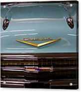 1957 Chevy Bel Air Acrylic Print by David Patterson