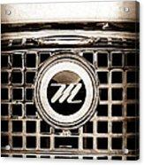 1959 Nash Metropolitan Grille Emblem Acrylic Print