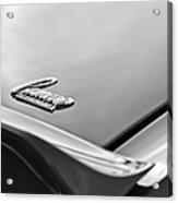 1969 Chevrolet Camaro Emblem Acrylic Print
