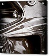 1969 Ford Mustang Mach 1 Emblem Acrylic Print
