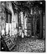 Abandoned Sanatorium Acrylic Print