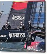 America's Cup San Francisco Acrylic Print by Steven Lapkin